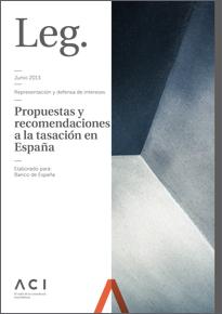 Propuestas y recomendaciones a la tasación en España