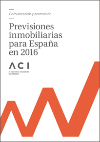 Previsiones inmobiliarias para España en 2016