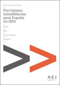 Previsiones inmobiliarias para España en 2014