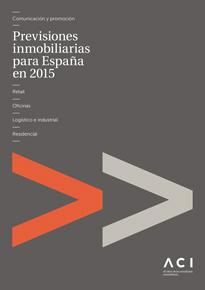 Previsiones inmobiliarias para España en 2015